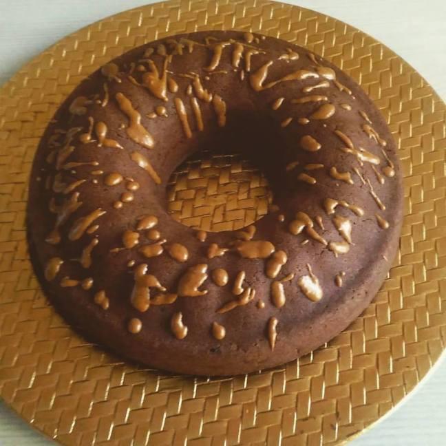 Κέικ καρύδας με σοκολάτα
